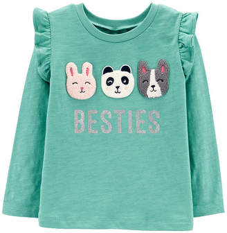 Carter's Graphic T-Shirt - Toddler Girls Graphic T-Shirt-Toddler Girls