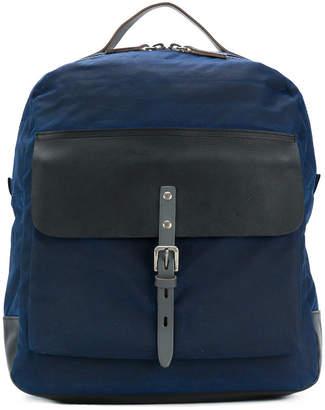 Ally Capellino iAn waxed backpack