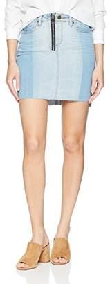 William Rast Women's Tiff 5 Pocket Denim Skirt