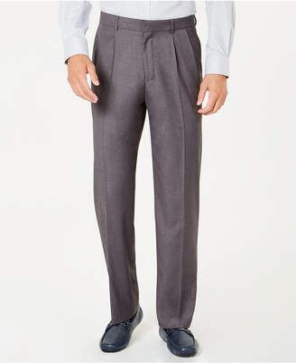 Dockers Signature Classic-Fit Performance Stretch Double-Pleated Dress Pants