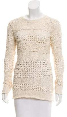 Inhabit Open Knit Crew Neck Sweater w/ Tags