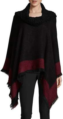 Fraas Women's Boucle Poncho