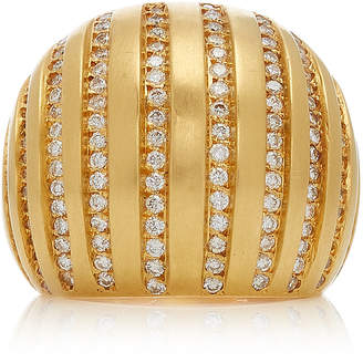Karma el Khalil 18K Gold Diamond Ring