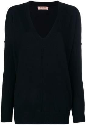 Twin-Set V-neck sweater