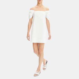 dbcf81df974 Classic Chino Draped-Sleeve Dress