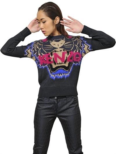 Kenzo Viscose Knit Blend Sweater