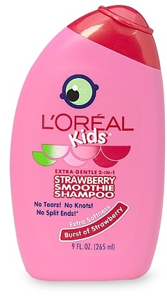 L'Oreal Kids Extra Gentle 2-in-1 Shampoo Burst of Strawberry