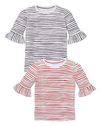 Kd KD Girls Pack of Two Stripe Tees