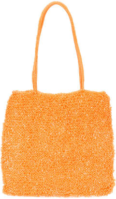 Maryam Nassir Zadeh Valentina knitted pouch bag