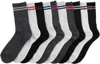 Tek Gear Women's 10-Pack Cushioned Crew Socks