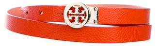 Tory Burch Leather Reversible Belt