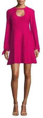 Nanette Lepore Majorca Cutout Flare Dress