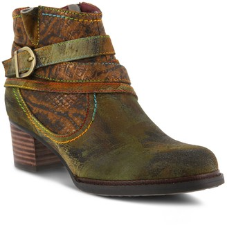Spring Step L'Artiste by Shazzam Women's Ankle Boots