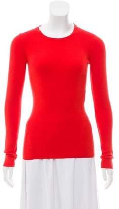 Diane von Furstenberg Wool Rib Knit Sweater