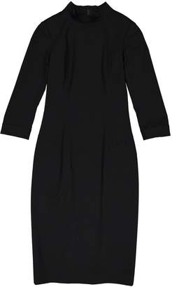 L'Wren Scott Black Wool Dress for Women