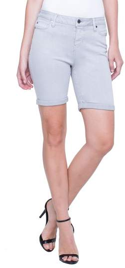 Corine Cuffed Denim Shorts