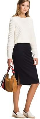 Tommy Hilfiger Pencil Midi Skirt