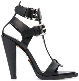 Balmain high-heel buckled sandals
