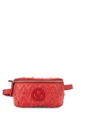 Mario Valentino Quilted Leather Fanny Pack