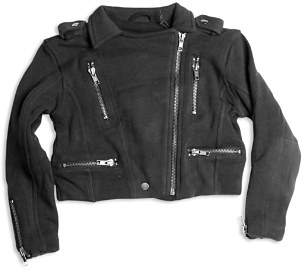 Chaser Girls' Knit Moto Jacket - Big Kid