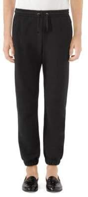 Gucci Logo Jersey Jogger Pants