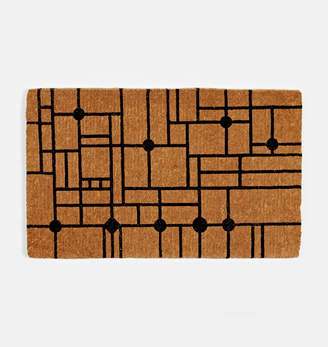 Rejuvenation Craftsman Grid Windowpane Doormat
