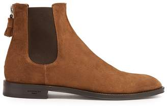 Givenchy Suede chelsea boots