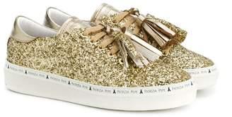 Patrizia Pepe Junior glitter sneakers