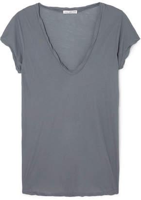 James Perse Cotton-jersey T-shirt - Gray