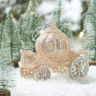 The Christmas Home Gold Carriage Christmas Decoration