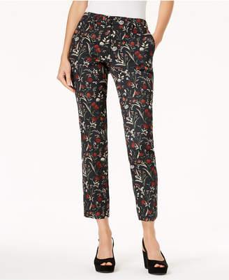 Marella Elisa Floral Jacquard Pants