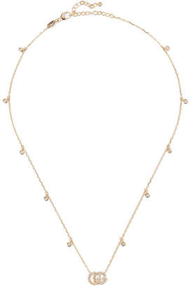 Gucci 18-karat Gold Diamond Necklace