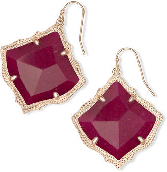 Kendra Scott Kirsten Drop Earrings in Rose Gold