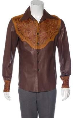 cc72b63acaa Gucci Floral Shirt Mens - ShopStyle
