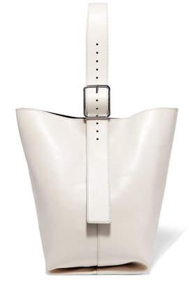 1f97dac7c8eb ... Theory Hobo Leather Shoulder Bag - Cream