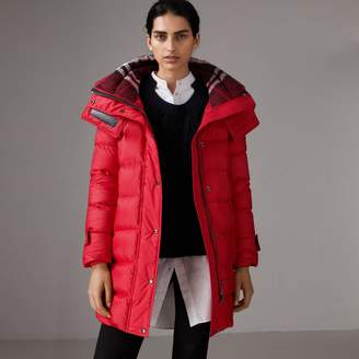 Burberry Down-filled Puffer Coat With Detachable Hood