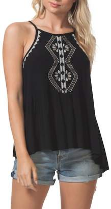Rip Curl Serena Embroidered Tank Top