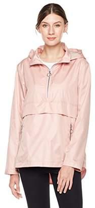 Otterline Women's Half Zip Regular-Fit Pull Over Hoodie Jacket Pink M