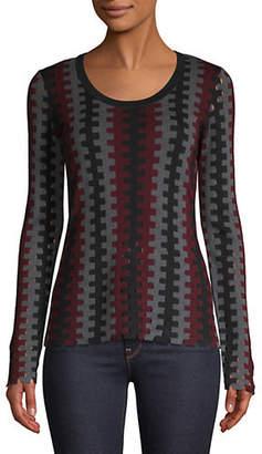 Diane von Furstenberg Merino Wool Knitted Sweater