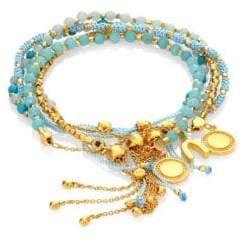 Astley Clarke Evergreen Kula Biography Bracelet Stack