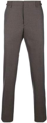 Prada houndstooth tailored trousers