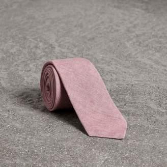 Burberry Slim Cut Linen Tie, Pink