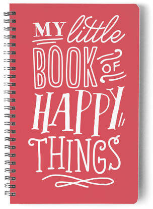 Happy Things Self-Launch Notebook