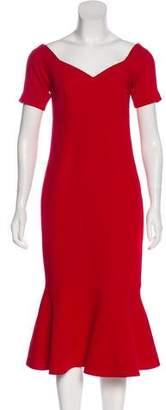 Cinq à Sept Crepe Evening Gown