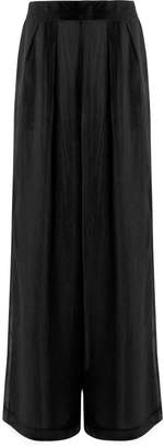 In.No Violet Black Palazzo Trousers