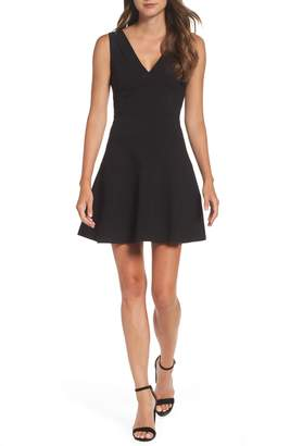 Ali & Jay Fit & Flare Dress