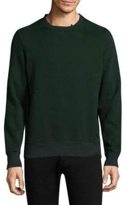 Ovadia & Sons Distressed Knitted Sweatshirt