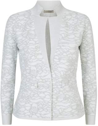D-Exterior D.Exterior Jacquard Knit Jacket