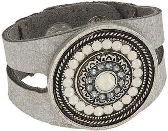 Leather Rock Bree Bracelet Bracelet