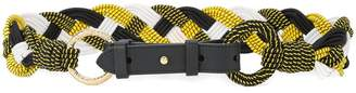 Diane von Furstenberg braided belt